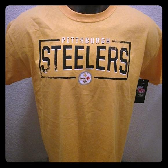 96fabb085 Pittsburgh Steelers NFL Apparel T Shirt NWT